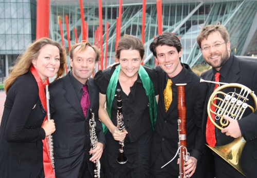 Cassiopeia Wind Quintet - Grand Canal Theatre